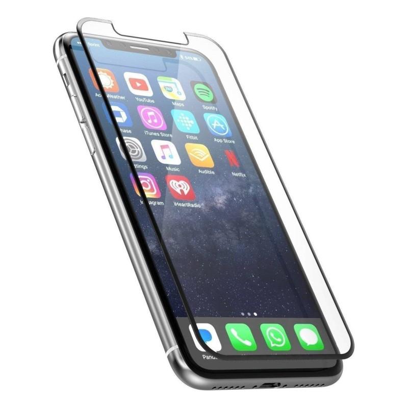 Film en verre trempé complet pour Apple iPhone 6 Plus / 6S Plus Noir
