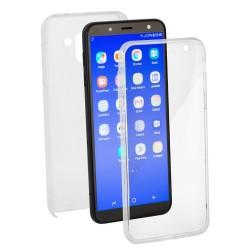 Coque en silicone 360 Transparent