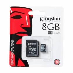 Carte Mémoire Micro SD 8Go Avec Adaptateur