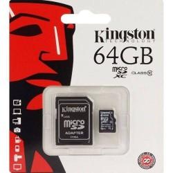 Carte Mémoire Micro SD 64Go Avec Adaptateur