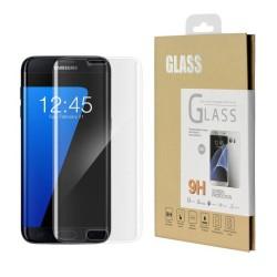 Film en verre trempé pour Samsung Galaxy S6 Edge incurvé Noir