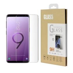Film en verre trempé pour Samsung Galaxy S8 Plus incurvé Blanc