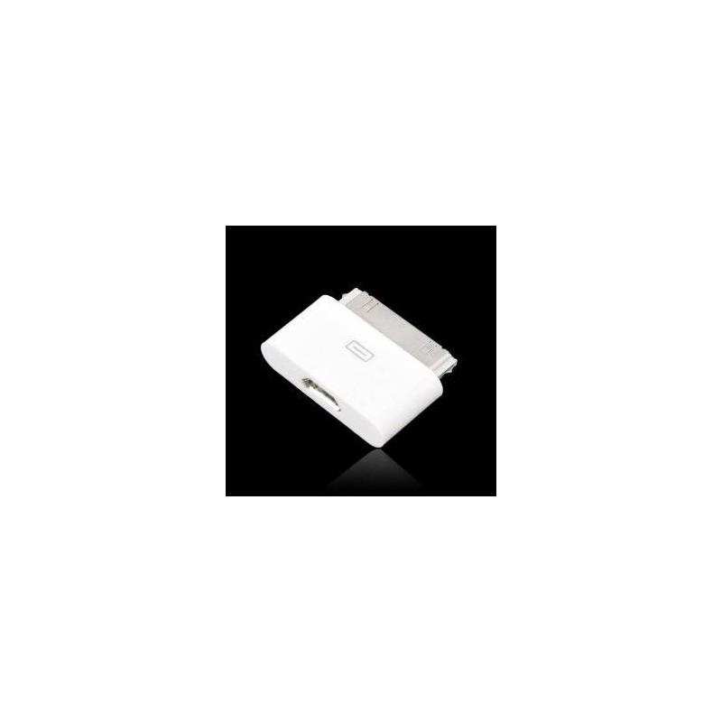 Adaptateur Origine Apple Micro USB à 30 Broches Blanc