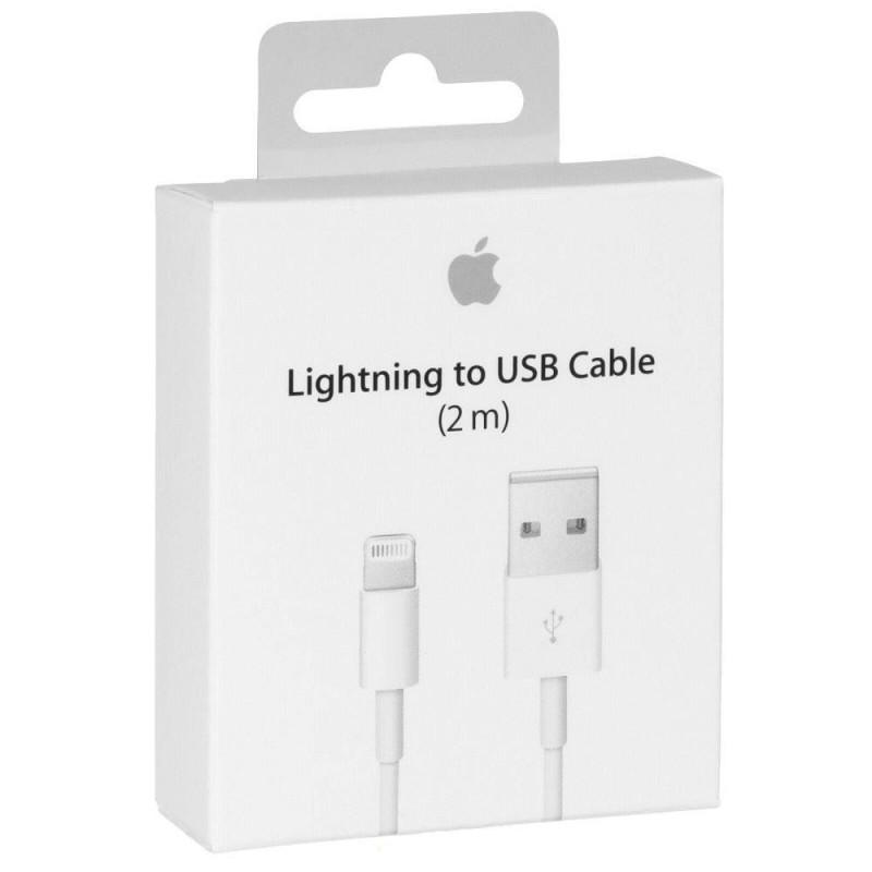 Cable Origine Apple Blanc V2 sous Blister