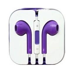 Ecouteur Earpods Compatible Apple Violet