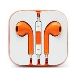 Ecouteur Earpods Compatible Apple Orange