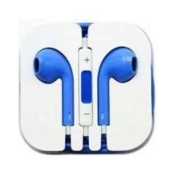 Ecouteur Earpods Compatible Apple Bleu